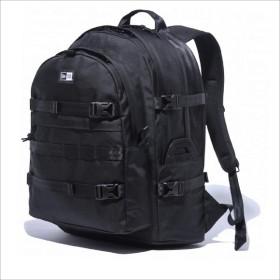 NEWERA CARRIER BAG 35L(ブラック)ニューエラ リュック メンズ レディース NEW ERA バッグ リュックサック バックパック 通学 大容量 おしゃれ ブランド 黒 ブラック グレー
