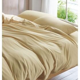 枕カバー(綿100%ニット) - セシール ■カラー:ソフトベージュ ネイビー ピンク ■サイズ:L(85×45cm)
