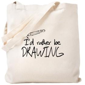 CafePress–I ' d Rather Be図面–ナチュラルキャンバストートバッグ、布ショッピングバッグ S ベージュ 0462993449DECC2