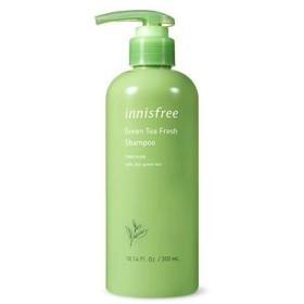 [イニスフリー.innisfree]グリーンティーフレッシュシャンプー(300ml)+コンディショナー(200mL)/ Green Tea Fresh Shampoo+ Conditioner