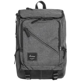 [韓国ブランド] Korea Brand 韓国ファッション 男性 クロス ラインバックパックバッグ (Korea Fashion Men's Cross Line Backpack Bag) (ダークグレー(Dark Gray)) [並行輸入品]