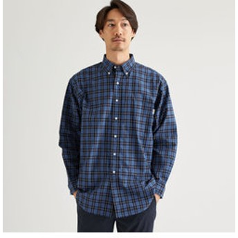 【green label relaxing:トップス】[ジムフレックス]SC★GYMPHLEX RELAX ボタンダウン シャツ
