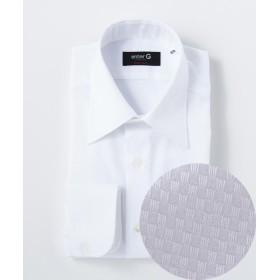 エンタージー マイクロドビーチェックシャツ メンズ ホワイト系8 41-85 【enter G】
