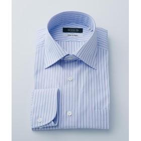 【50%OFF】 エンタージー サックスオルタネートストライプシャツ メンズ サックスブルー系1 42 【enter G】 【セール開催中】
