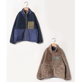 クリフメイヤー ひっくりキャンプジャケット(120~160cm) レディース ネイビー 160 【KRIFF MAYER】