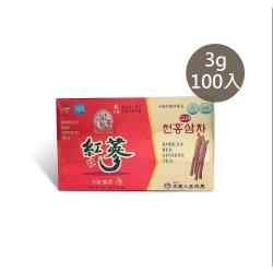 【振興高麗人蔘】高麗天紅蔘茶 100入禮盒