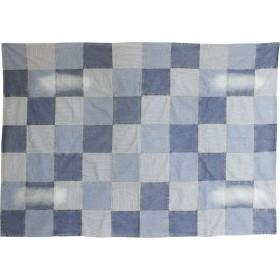 村田屋産業 ソファカバー・マルチカバー ブルー 192×136cm