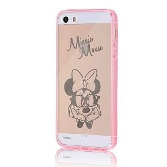 iPhone SE / iPhone5s / iPhone5 ケース ディズニー ハイブリッド(TPU+ポリカーボネイト)ケース ミニーマウス RT-DP11U/MN 送料無料