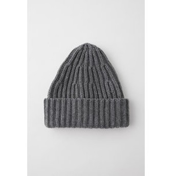 【MOUSSY:帽子】RIB ニットキャップ