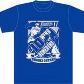 北海道日本ハムファイターズ エンゼルス 大谷翔平 受注生産 10勝&10本塁打 達成記念Tシャツ Mサイズ ベーブルース メジャー 二刀流 2014年
