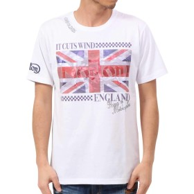 [ノートン] Norton Tシャツ ドライ ユニオンジャック 昇華 クルーネック TEE 192N1003 ネイビー L