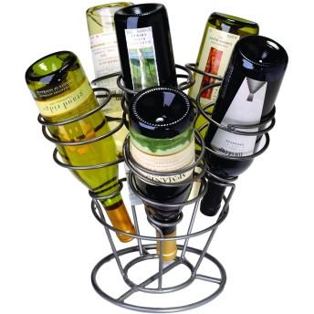 Oenophilia 6-Bottle Bouquet Wine Rack ワインラック 並行輸入品