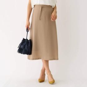 (アクアガール) aquagirl ツイルヴィンテージ 台形スカート 12976305 36(S) ベージュ(052)