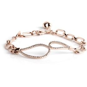 ブレスレット スターリングシルバー フリーサイズ 17cm+3cm CéK 621W Bracelet