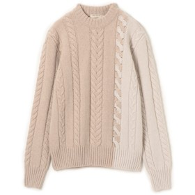 MAISON KITSUNE(メゾン・キツネ)/PULLOVER CABLE-KNIT