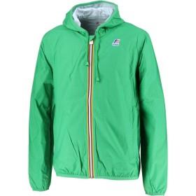 [ケーウェイ] アウトドア ジャケット カッパ JACQUES PLUS 耐水 フード付き K000F80 メンズ Green Kelly EU L (日本サイズL相当)
