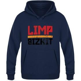 Limp Bizkitカップル プラスベルベットパーカー スポーツフーディプルオーバー 個性秋冬トップス 長袖連帽と上衣ポケットがあります