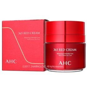 AHC 365 Red Cream 1.7 Fl Oz(50ml) - Whitening & Wrinkle Care / Red Cocktail Skin Care
