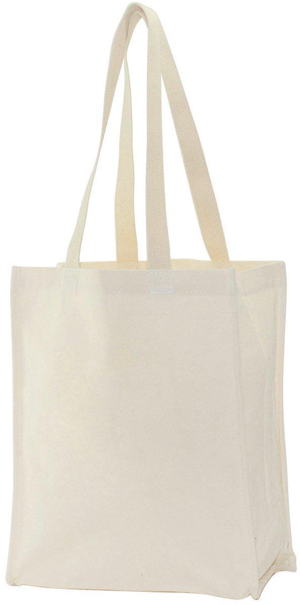 Tanday #8501 Purple Non Woven Tote Bags 6pcs. 12 x 12 x 4.35