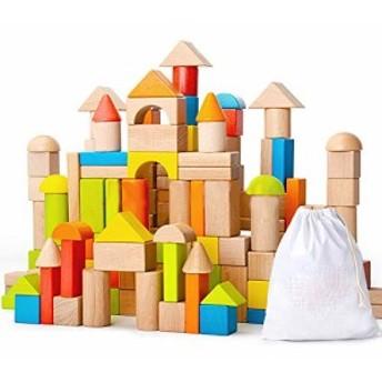 baob 積み木 ブロック 知育玩具 男の子 女の子 贈り物 誕生日プレゼント 出産祝い 育に最適(想像力&立体感覚&・・・