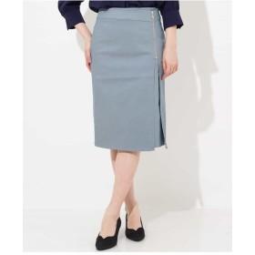 OFUON ジップタイトスカート その他 スカート,ブルー
