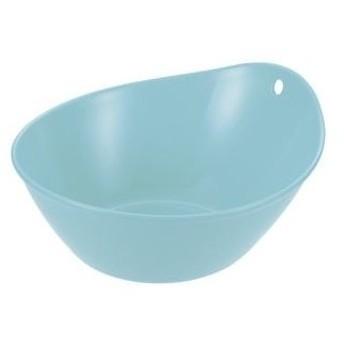 ds-2247769 (まとめ) 風呂桶/湯おけ 【ライトブルー】 抗菌効果 フック穴つき 湯桶EX 『ハユール』 【×30個セット】 (ds2247769)