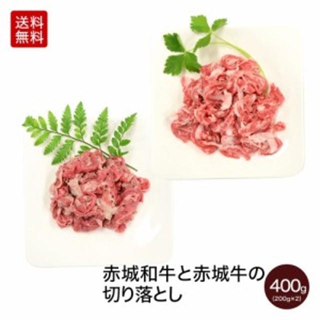 肉 牛肉 お歳暮 ギフト 赤城和牛と赤城牛の切り落とし 400g 200g×2パック 【冷凍】