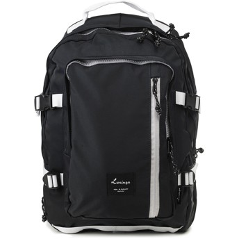 [韓国ブランド] Korea Brand 韓国ファッション Basic Color バックパック バッグ (Korea Fashion Basic Color Backpack Bag) (ネイビー(Navy)) [並行輸入品]