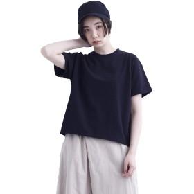 (メルロー) merlot コットン無地Tシャツ1424 938016031424 FREE ブラック