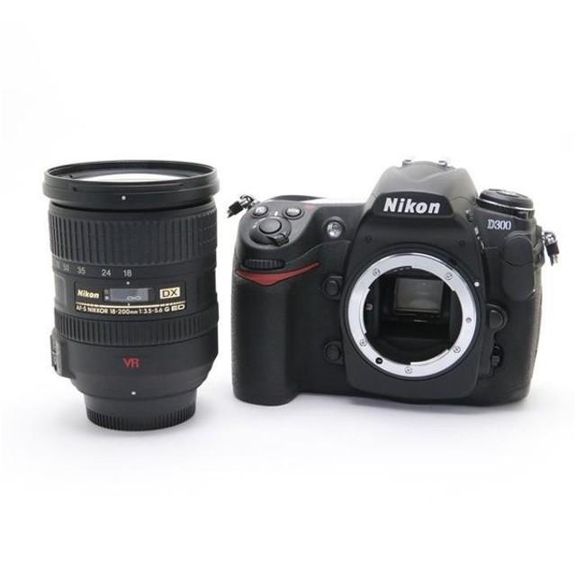 《並品》Nikon D300 AF-S DX18-200Gレンズキット