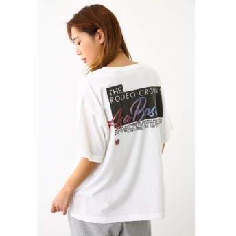 [マルイ]【セール】R Basis ビッグTシャツ/ロデオクラウンズ ワイドボウル(レディス)(RODEO CROWNS WIDE BOWL)