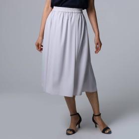 UNTITLED(アンタイトル)/[L]【洗える】ウエストギャザースカート