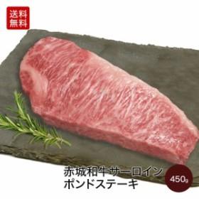 肉 牛肉 お歳暮 ギフト 赤城和牛 国産 サーロイン 家庭用 ポンドステーキ 450g 【冷凍】