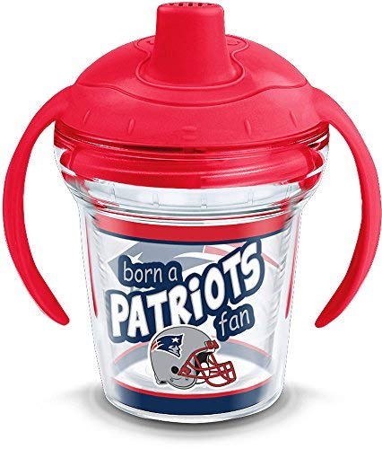 Tervis 1290841 NFL Pittsburgh Steelers Born A Fan Sippy Cup 6 oz Clear
