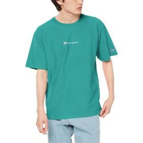 [チャンピオン] リバースウィーブ Tシャツ C3-Q305 メンズ ダークグリーン 日本 XL (日本サイズXL相当)
