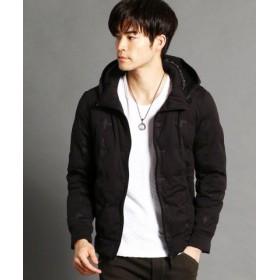 (NICOLE CLUB FOR MEN/ニコルクラブフォーメン)中綿入りストレッチパーカブルゾン/メンズ 49ブラック