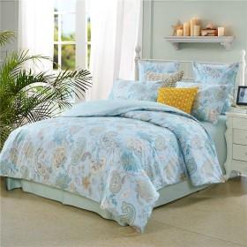 春夏 米式民族風 植物花柄模様 寝具カバーセット 掛け布団カバー 枕カバー 3点セット シングル