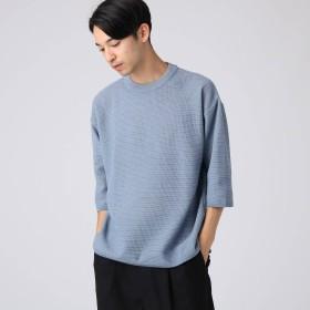 tk.TAKEO KIKUCHI(ティーケー タケオキクチ:メンズ)/ビッグシルエットクルーネックニット