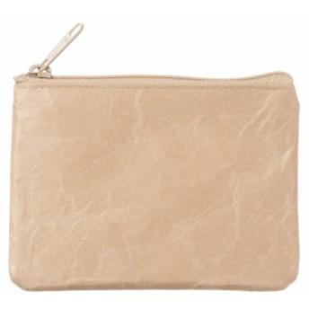 SIWA|紙和 コインケース wide ブラウン 破れにくい紙・ナオロン製小銭入れ 山梨県の工芸品 Durable paper coin purse