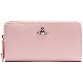 英国 Vivienne Westwood [ヴィヴィアンウエストウッド] ラウンドジップ 長財布 ピンク 本革 イタリア製 PIMLICO Pink [並行輸入品]