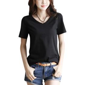 [リザウンド] シャツ トップス カットソー 半袖 ファッション Tシャツ トップス とっぷす スキッパー かっとそー すきっぱー すきっぱ tシャツ Tシャツ Tシャツ ティシャツ ロング丈 ロンt ティーシャツ シャツ ロング ろんぐ こなれ感 プルオーバー ぷるおーばー 人気 にんき ニンキ 刺繍 ししゅう はるもの はるふく なつもの なつふく ブラック 黒 XL 507