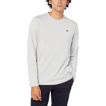 [ラコステ] TEE SHIRTS [公式] クルーネックTシャツ (長袖) メンズ グレー EU 004 (日本サイズL相当)