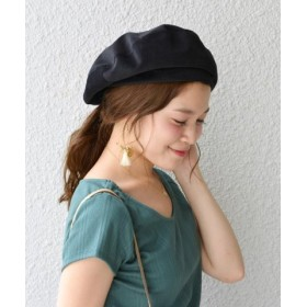 (SHIPS OUTLET/シップス アウトレット)【SHIPS for women】(3253)CORDUROY BERET/レディース ブラック