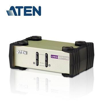 ATEN 2埠USB+PS/2多電腦切換器(CS82U-A0)