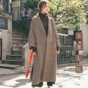 秋冬コート 韓国風 オーバー レディース コート  カジュアル かわいい 韓国風 長袖コート オシャレ 通勤通学 女らしさ 暖かい