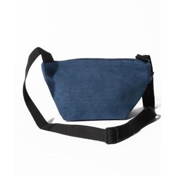 シンシア 〈MAKE UP/メイクアップ〉Earth Color Bag/アースカラー帆布 舟形ショルダーバッグ ユニセックス ネイビー ONE SIZE 【Sincere】
