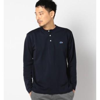"""【シップス/SHIPS】 LACOSTE(ラコステ):【SHIPS別注】""""THERMO LITE(R)"""" ヘンリーネック Tシャツ"""