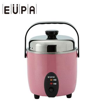 EUPA 3人份 不鏽鋼電鍋-粉紅(TSI-8203SP)