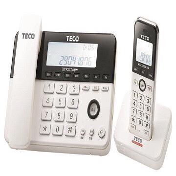 東元TECO 2.4G數位親子機(XYFXC081W)