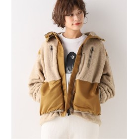 Spick and Span 【White Mountaineering】BOA JACKET / ボアジャケット ベージュ フリー